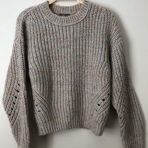 J. Crew Point Sur Chunky Ribbed Crewneck sweater